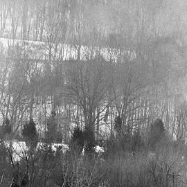 Georgia Sheron - Saaw Mill In Snow Storm