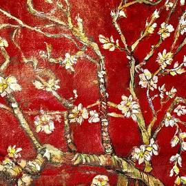 Belinda Low - Sac Rouge avec Fleurs d