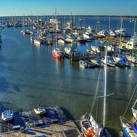 Reid Callaway - Safe Harbor Charlston Yacht Club Art Charleston City Marina