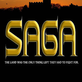 Mike Nellums - Saga book cover