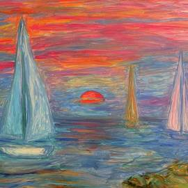 Sail Boat Sunrise Stage One