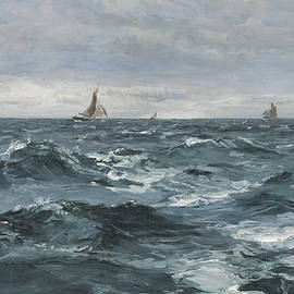 Sail on a Rough Sea - Henry Moore