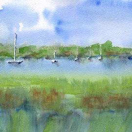 Frank Bright - Sailboats at Beaufort