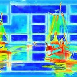 Catherine Lott - Sailing Around The Lens Aquarium