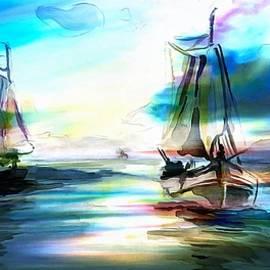 Catherine Lott - Sailing Around The Lens