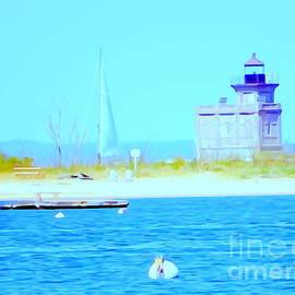 Ed Weidman - Sailing Past The Lighthouse