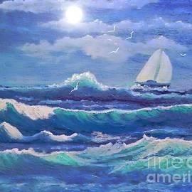 Holly Martinson - Sailing the Caribbean