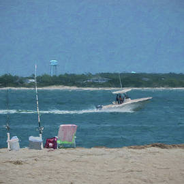 Sandi OReilly - Boating Through Bogue Inlet