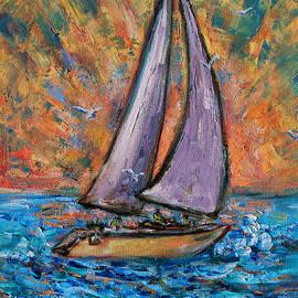 Xueling Zou - Sails up