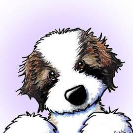 Kim Niles - Saint Bernard Puppy
