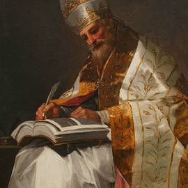 Saint Gregory the Great, Pope - Francisco Goya