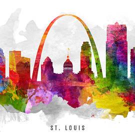 Aged Pixel - Saint Louis Missouri Cityscape 13