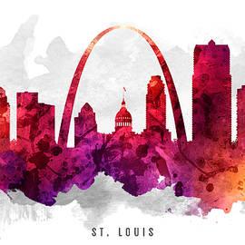 Aged Pixel - Saint Louis Missouri Cityscape 14