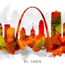 Aged Pixel - Saint Louis Missouri Cityscape 15