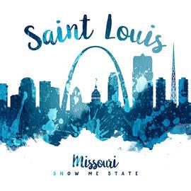 Saint Louis Missouri Skyline 27 - Aged Pixel