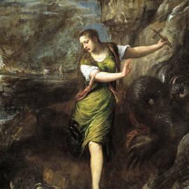 Saint Margaret  - Titian