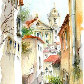 Elena Petrova Gancheva - Saint Stephen Church Lisbon