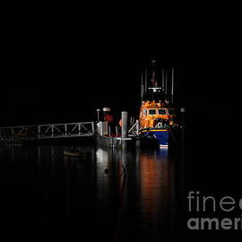Timothy Morgan - Salcombe lifeboat at night