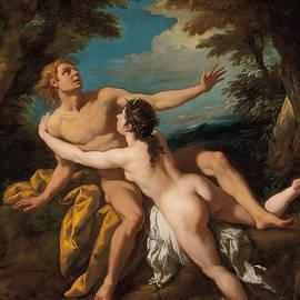 Salmacis and Hermaphroditus - Jean Francois de Troy