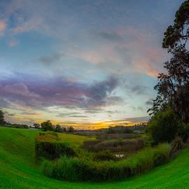 Salt Marsh Summer Twilight