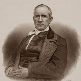 Sam Houston Portrait - War Is Hell Store