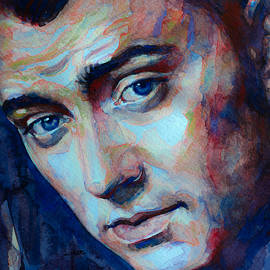 Laur Iduc - Sam Smith captured in watercolor