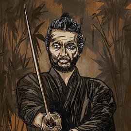 Andrzej Szczerski - Samurai warrior.