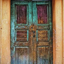 Claude LeTien - San Andres Xecul Door