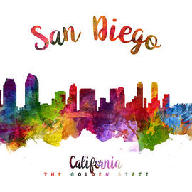 San Diego California 23 - Aged Pixel