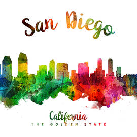 San Diego California 24 - Aged Pixel