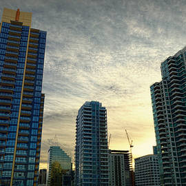 Glenn McCarthy Art and Photography - San Diego Skyline At Morning
