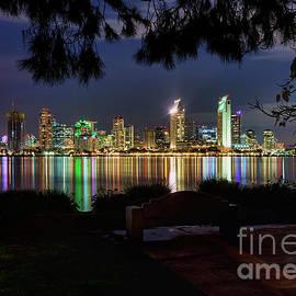 Eddie Yerkish - San Diego Skyline
