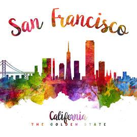 San Francisco California 23 - Aged Pixel