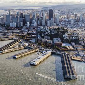 Hugh Stickney - San Francisco Waterfront Aerial
