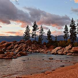 Randy Dyer - Sand Harbor Evening