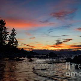Dianne Phelps - Sand Harbor Evening Sunset