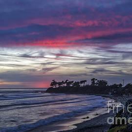 Mitch Shindelbower - Sands Beach At Sunset