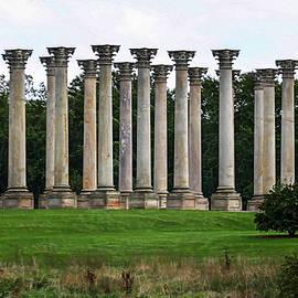 Joe Paradis - Sandstone Pillars from National Capitol