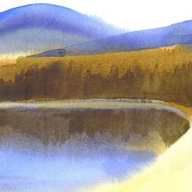 Kip DeVore - Sandy Blue Dusky Mountain Lake