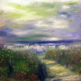 Patricia Taylor - Sandy Path to the Beach Painting