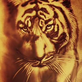 Elena Vedernikova - Sandy Tiger. Golden