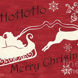 Santa and Reindeer Sleigh - Debbie DeWitt