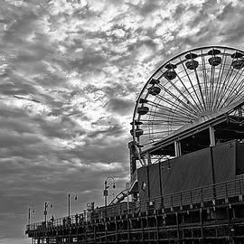 Randy Dyer - Santa Monica Pier - Black and White
