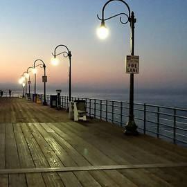 Art Block Collections - Santa Monica Pier Lights