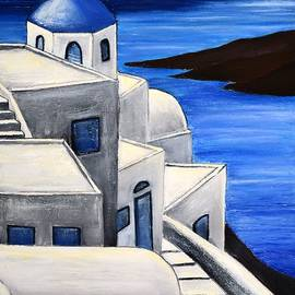 Dimitra Papageorgiou - Santorini Greece 4