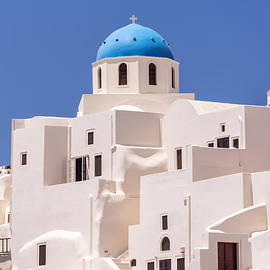 Antony McAulay - Santorini Oia Church and apartments