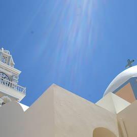 Malik Jaffer - Santorini Sun