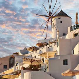 Antony McAulay - Santorini Windmill at Oia