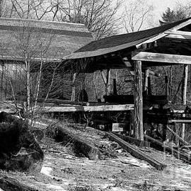 Georgia Sheron - Saw Mill In Snow