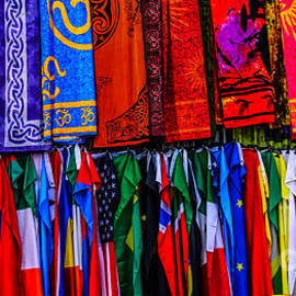 Debra Martz - Scarves and Flags